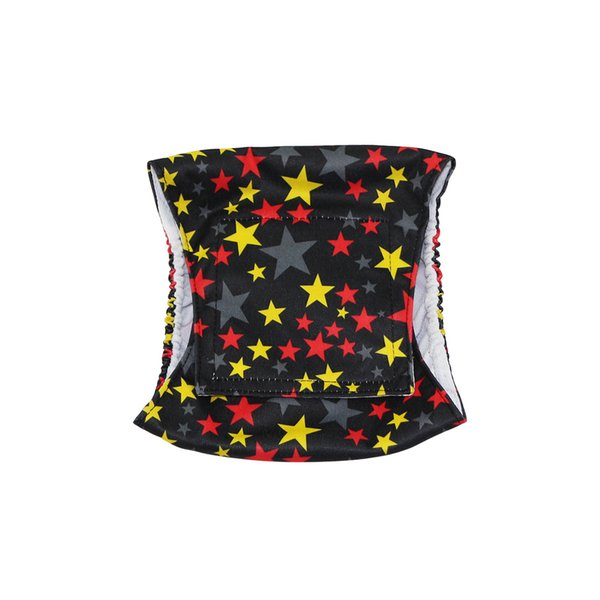 Star| Hi Sprout pet Male Dog Diaper Reusable Washable Durable Absorbent Cloth Doggie Diapers Pants OEM&ODM