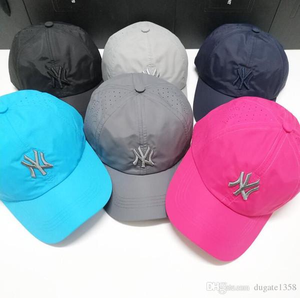 Yüksek Kalite Kadınlar Erkekler Beyzbol Yaz Finalleri Yumuşak Snapback Ayarlanabilir Nefes Bent Şapka Popüler Sıcak Satılık Caps