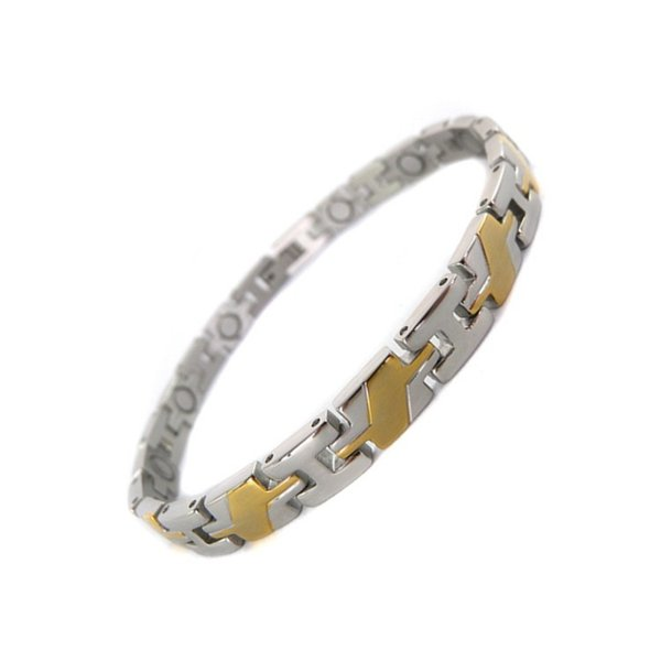 Stainless Steel Magnet Bracelet, Health Bracelet, Four-in-one Bracelet
