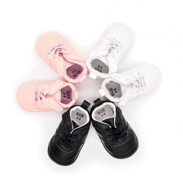 PU Leather Baby Boys Girls First Walker Shoes Sneakers Bow Fringe Soft Soled Non-slip Footwear Crib Shoes