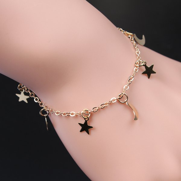 Women Bracelet Jewelry Fashion Charm Handmade Gold Silver Plated Mental Hand Accessories For Women Hand Chain B005