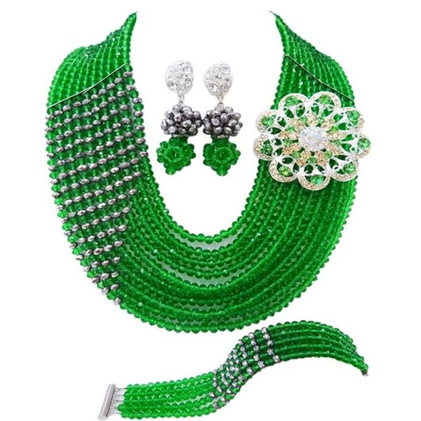 green silver plated