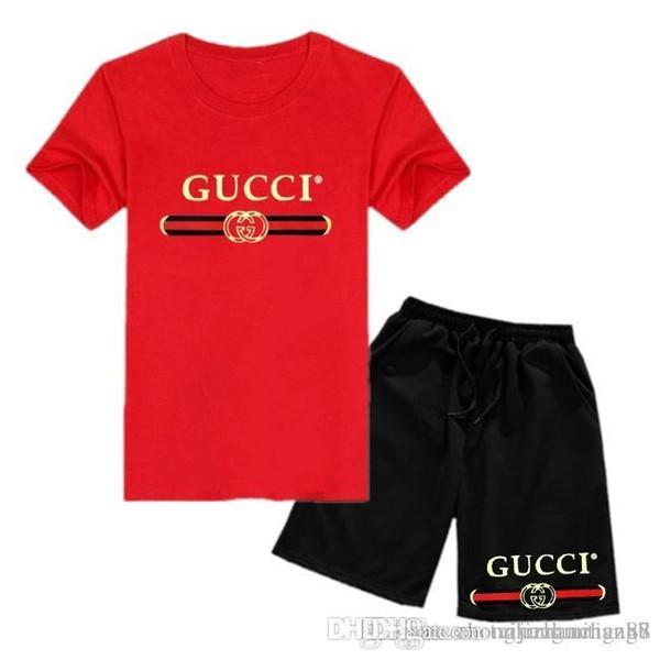 Mens Designer Tracksuits Sportswear Men's Jogging Suits Short Sleeve T Shirt and Shorts Spring Summer Casual Unisex Brand Sportswear Se
