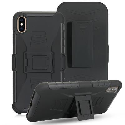Чехол для телефона Future Armor Case Воздействие Гибридный твердый переплет Зажим для ремня Подставка для подставки Для iPhone XS MAX XR X 7 8 Samsung S10