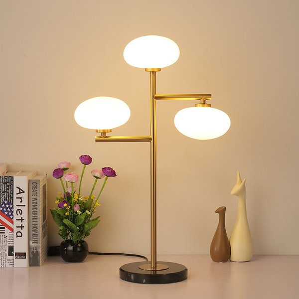 2019 Modern Table Lamp Bedroom Bedside Desk Lamp Nordic LED Lamps Simple  Fashion Ball Glass Lampshade Creative Home Lighting No103 From Cindyyan713,  ...