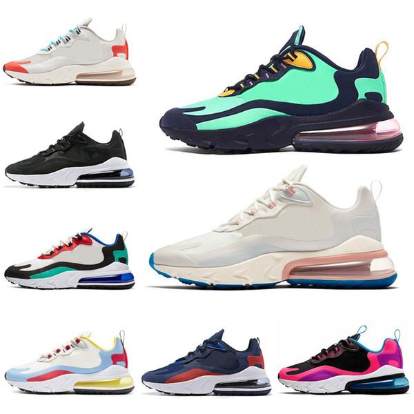 Nouvelle couleur React ELECTRO VERT de haute qualité Chaussures de course Casual Hommes Sport Hommes Baskets Sneakers Extérieur Taille du EUR36-45 Drop Shipping