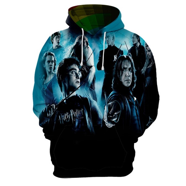 Camisa mexicana Harri moletom com capuz filme impressão 3D Potter dos homens do hoodie dos desenhos animados unisex camisola casual 20 street hip hop pullover