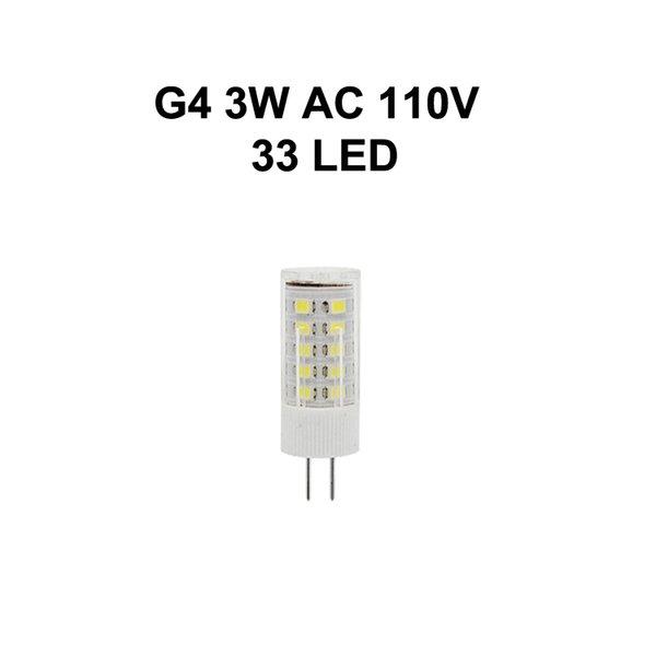 G4 3W AC110V 33LED
