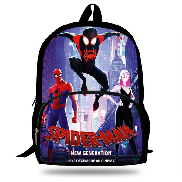 Marvel Ultimate Spider-man Characters 3D Backpack School Bag Small Rucksack  ...