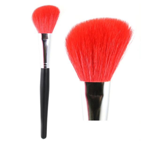 Profissional Blush Brush Macio Rosto Cheeks Em Pó Fundação Blush Bronzer Highlighter Em Ângulo Contorno Pincel de Maquiagem Ferramentas de Beleza