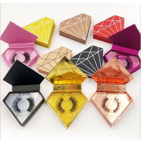 Brillo diamante de la caja