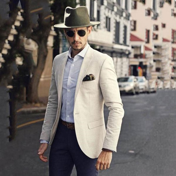 Летний пляж мужской костюм на заказ повседневные мужские костюмы мужские пиджаки бизнес-куртки только одна часть
