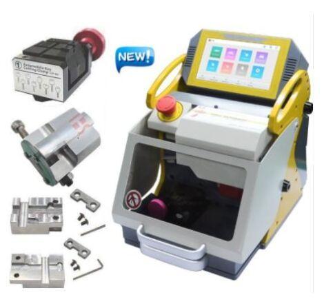 DHL Free SEC-E9 Máquina automática para fabricar llaves Máquina cortadora láser para la venta 2019 Nueva Duplicadora de llaves