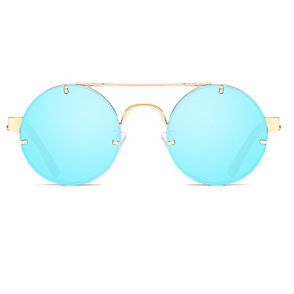 C5 Gold Frame Blue Mirror