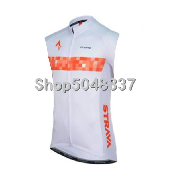 2019 cycling Vests team strava Sleeveless Summer Shirts  Road Bike Bicycle Jersey Top Cycle Clothing Coat gilet ropa ciclismo