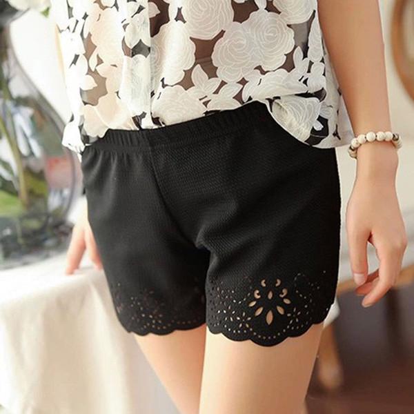 2019 brand summer casual shorts women holiday fashion bottom short pants female trousers sweet girl sweatpants black skort