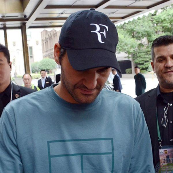 Tennis Star Roger Federer Papa Hut Sport Baseballmütze 100% Baumwolle 3D Stickerei Unisex Snapback Caps Tennis Hut F Hüte