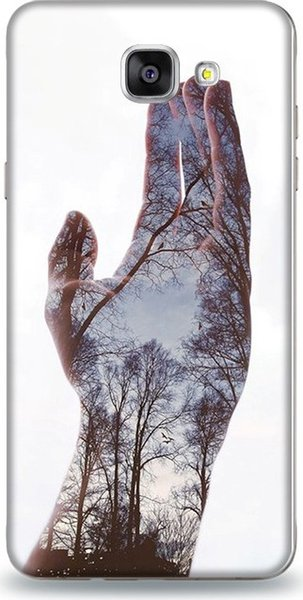 For samsung a5 dynamics hand and nature pattern case case 2016 ship from turkey HB-000856401