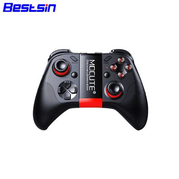 Bestsin Mocute 054 Bluetooth Геймпад Mobiele Joypad Android Джойстик Draadloze VR Контроллер Смартфон Планшетный ПК Телефон Телефон Smart TV Game Pad