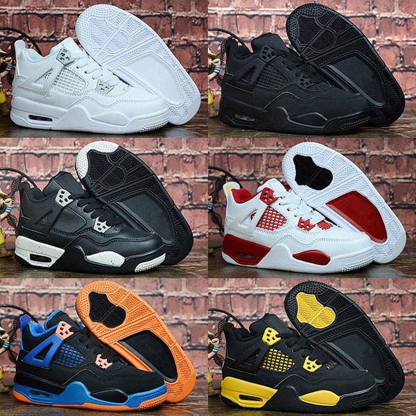scarpe per bambini Jumpman 4 bambini scarpe da basket ragazzi e ragazze bambini 4s sport sneakers da basket scarpe sneakers giovanili taglia 28-35
