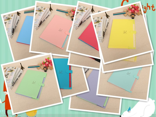 Folder Manufacturer Customized Creative Multilayer A4 Folder File Bag Organ Bag Briefcase(10 pieces/free postage)