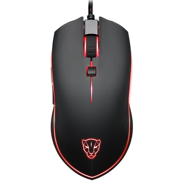 MOTOSPEED V40 Gaming Mouse 4000DPI Mice Buttons Breathing LED Optical Wired Mouse Computer Gamer l126#35