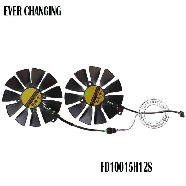 Fan Cooling Fans Cooling Free Shipping FD10015H12S 12V 0.55A 95mm VGA Fan For ASUS GTX780 GTX780TI R9 280 290 280X 290X 380