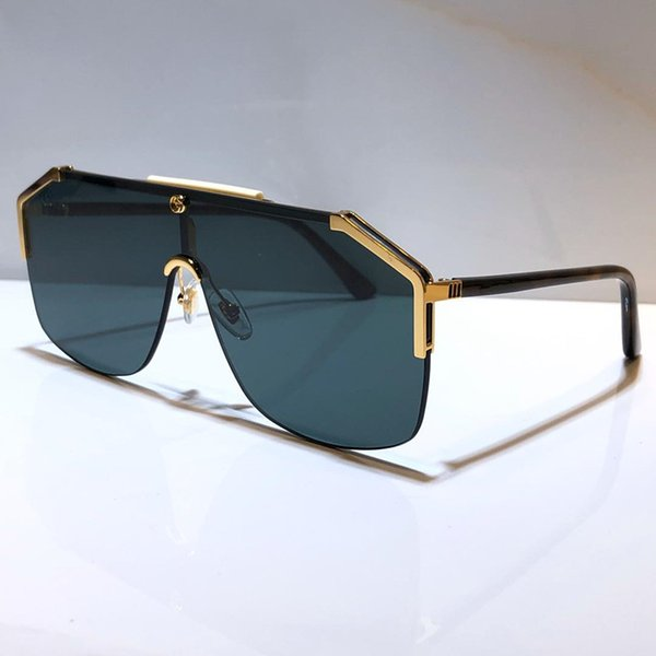 lente verde oro