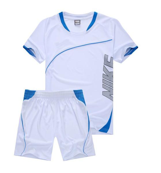 2019 Neuheiten NIKE Summer Mens Trainingsanzug Kurzarm T-Shirt und Shorts Casual Hoodies Sportanzug Sportset Herren Rundhals-Sport