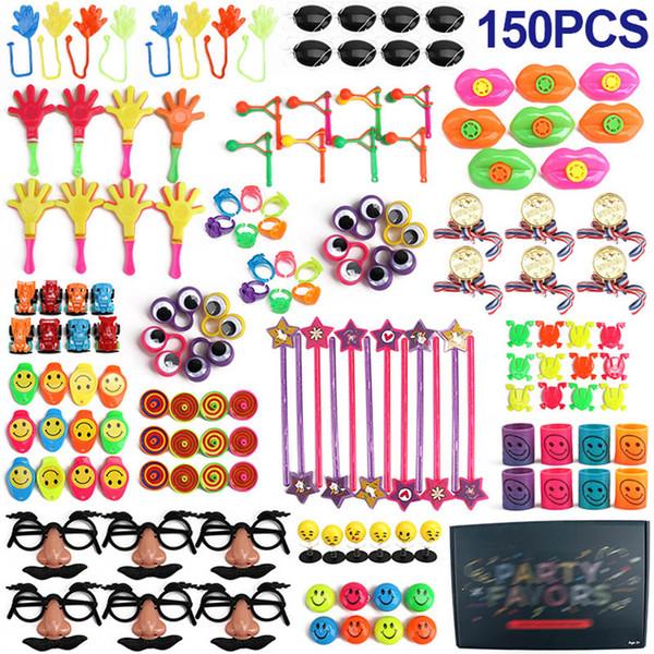 Compleanno Pinata Fillers Classroom Treasure Box 150 Pz Premi Gioco Rifornimenti per party Piccoli giocattoli all'ingrosso Regali per feste