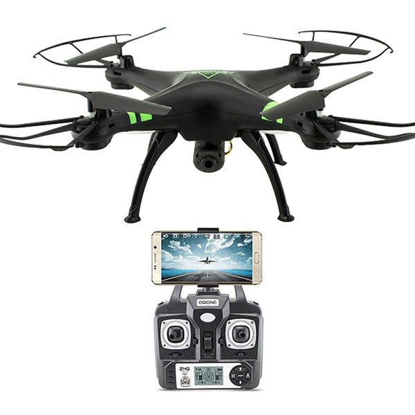 X53 Drone with 1080P HD Camera No Memory Cards Auto-Return/Height Holding Surveillance with Remote Control Quadcopter Model Toys