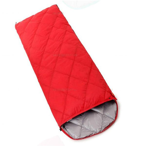 Açık Yetişkin Ilkbahar Ve Sonbahar Ördek Aşağı Uyku Tulumu Ultra hafif Kamp Sıcak Taşınabilir Zarf Ördek Aşağı Uyku Tulumu