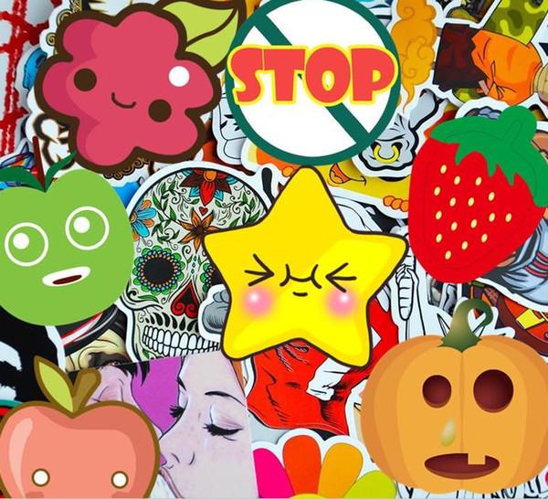 2019 neue 200 gemischt graffiti jdm aufkleber wasserdichte wohnkultur Doodle laptop motorrad bike reise fall aufkleber auto zubehör auto aufkleber