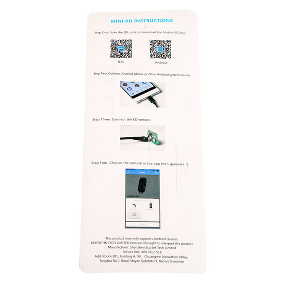 For Chrysler 6 Pin OBD2 Adapter Diagnose Fault Code DTC Reader OBD