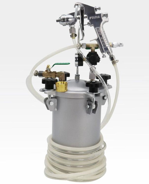 5L réservoir sous pression du réservoir de peinture Avec 5 millions tuyau