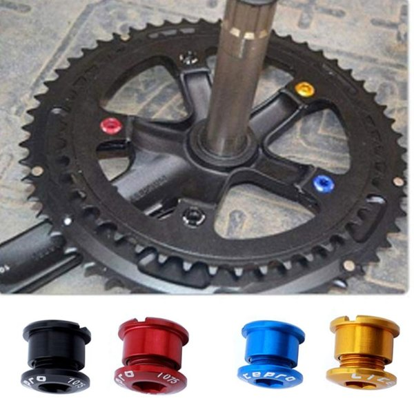 Alloy 6.5mm Road//Mountain Bike Single Crank Chainring Bolts
