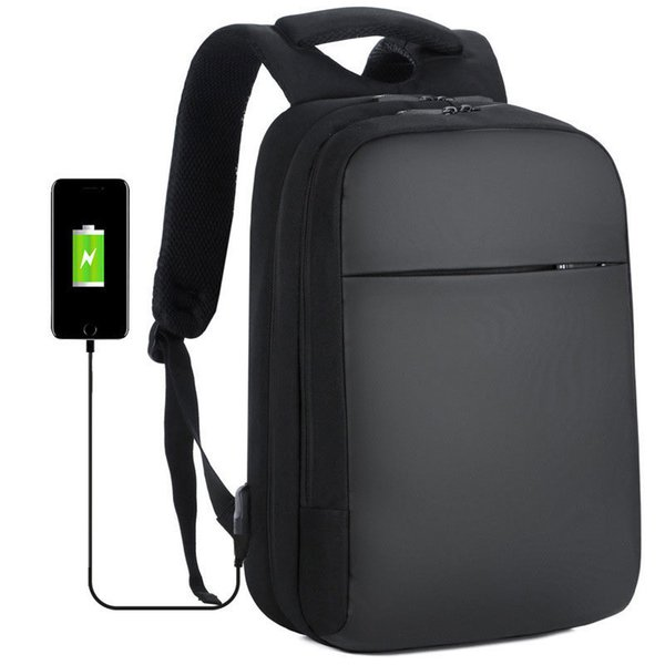 High Quality Usb Anti-theft Laptop Backpack 16 Inch Large Capacity Travel Men Women Waterproof Charging Backpack Student Bag J190718