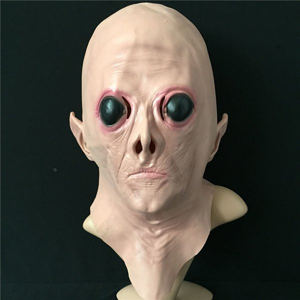 Aliens Effrayant Big Eye Masque Cosplay Festival de costume d'Halloween Accessoires Full Face Danse Party Collection Props