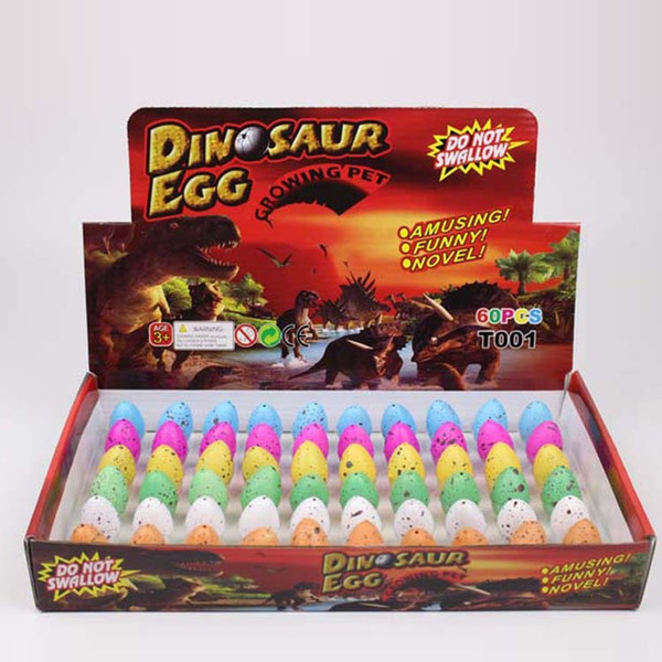 Easter egg Small children's educational toy color crack dinosaur egg expansion toy Easter eggs hatch toy