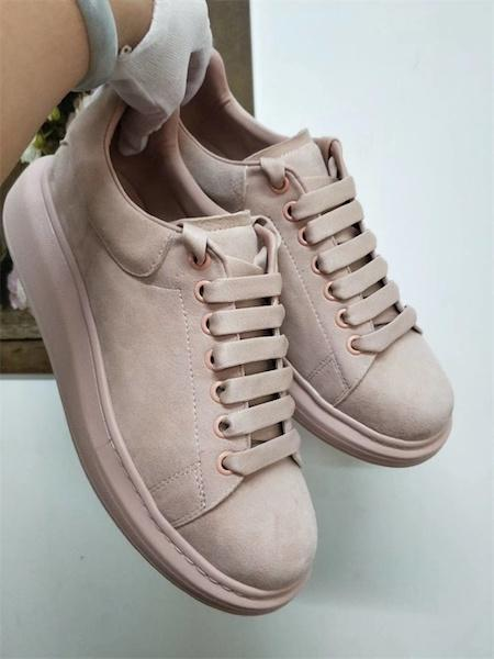 Wildleder pink