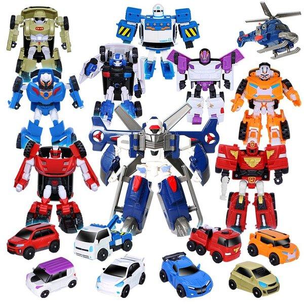 Compre 19 Estilos Juguetes De Corea Robot De Deformación De Dibujos Animados De Corea Tobot Brothers Anime Tobot Quartran Juguetes Juguetes De Niños
