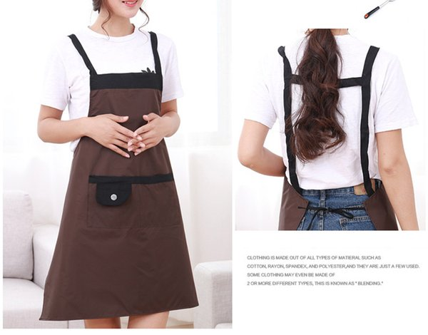 EachTong Aprons Kitchen, Waterproof Cute Apron, Waitress Apron Women'S  Kitchen Apron 36 6 X 27 5 Custom Apron Personalized Apron From Eachtong,  $6 03|
