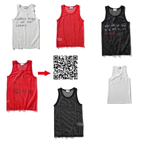 Yeni Perspektif Tasarımcı Erkek Tank Top Moda Spor Vücut Geliştirme Marka Salonu Giyim Lüks Kadınlar Yelek Tee Lüks Erkek İç Giyim M-XXL