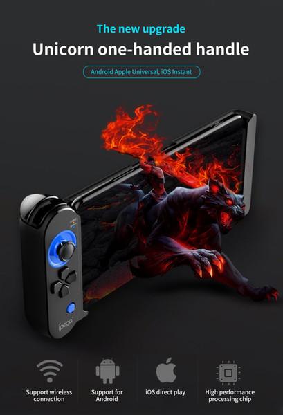 iPEGA PG-9120 drahtloser Gamepad Bluetooth Spiel-Prüfer-intelligente Spiel-Konsole für Huawei P30 Pro-Iphone Tablette PC Fernsehkasten-Steuerknüppel mit Halter