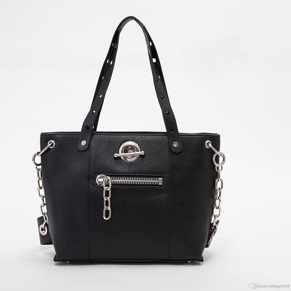 En Kaliteli Kadınlar küçük omuz çantası moda sıcak satış bayanlar kadınlar için mektup gerçek deri çanta 063qwe 13