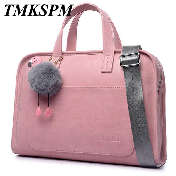 2019 Top modo di vendita degli uomini di affari della cartella del sacchetto di nylon Donne per Laptop Bag Casual Borse Uomo spalla Business Document