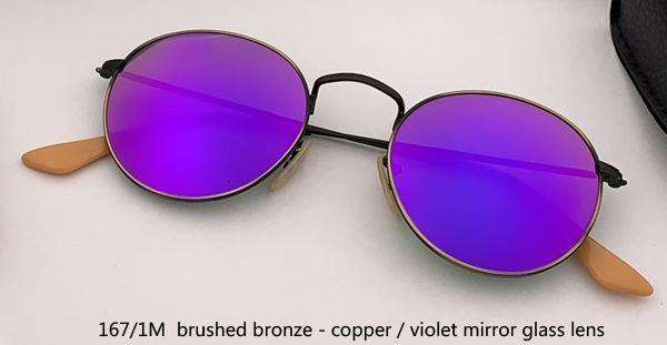 167 / 1M bronze cobre / espelho violeta