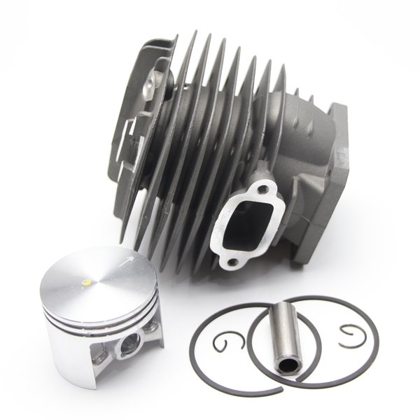48mm Cylinder Piston Kit For Stihl 034 036 MS340 MS360 Chainsaw 1125 020 1206 With Pin Ring Circlip Without Decom. Port By Farmertec