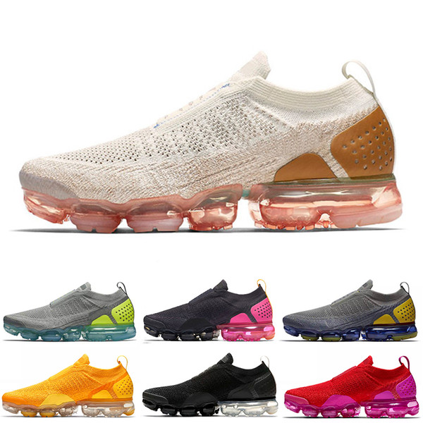 stable quality wholesale dealer aliexpress Acheter Nike Air Max Vapormax FLYKNIT Moc 2 SE Baskets Sans Lacets ...
