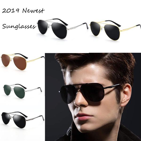 Fashion Classic Sunglasses Attitude Sunglasses Gold Frame Square Metal Frame Vintage Style Outdoor Design Classical Model